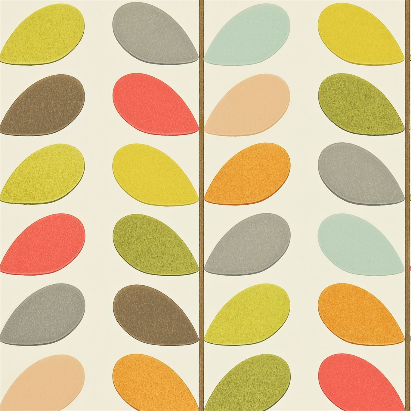 Wall Murals For Kids Orla Kiely Multi Stem Wallpaper
